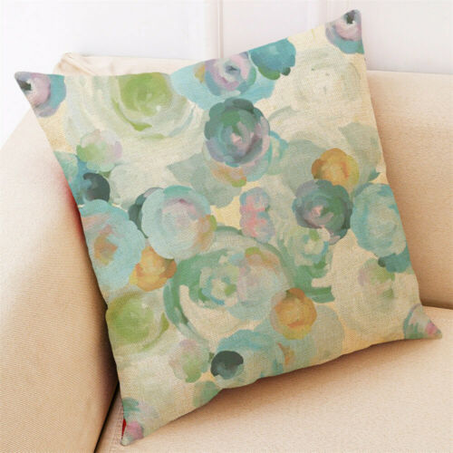 Home Decor Coussin Couverture Hello Spring Jeter Oreiller Pillow Covers