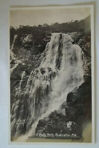 Tully-Falls-Ravenshoe-North-Queensland-Antiquarian-Vintage-Collectable-Postcard