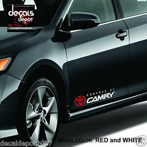 Decal-Vinyl-Graphics-Fits-TOYOTA-Camry-LE-XLE-SE-2000-to-2019-Fender-Decal