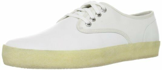 Clarks Hombre ORIGINALES Blanco WINSTON Run Marrón O Blanco ORIGINALES GB 8,8 .5 , 9,9 .5 ,10,11, 12 d2eb64