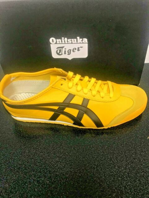 save off e2064 dcd34 ONITSUKA TIGER - UNISEX MEXICO 66 YELLOW BLACK SNEAKERS - DL408 0490