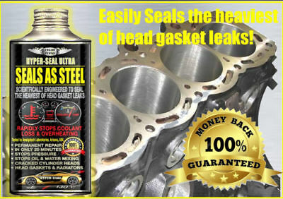 HYPER SEAL GOLD  Head Gasket Fix Seals As Steel For All Diesel//Petrol Engines