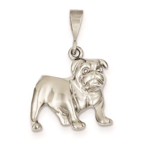 Details about  /14K Bulldog Dog Charm Pendant