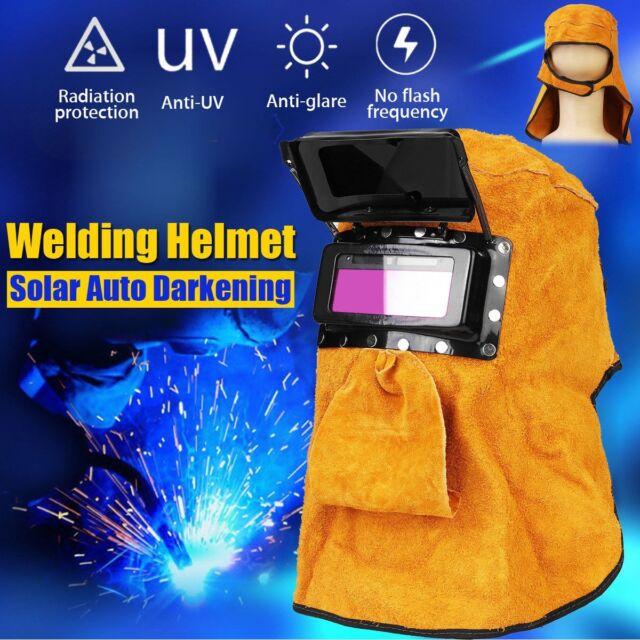 Sale Solar Power Auto Darkening Welding Helmet Mask Lens Automation Filter Shade