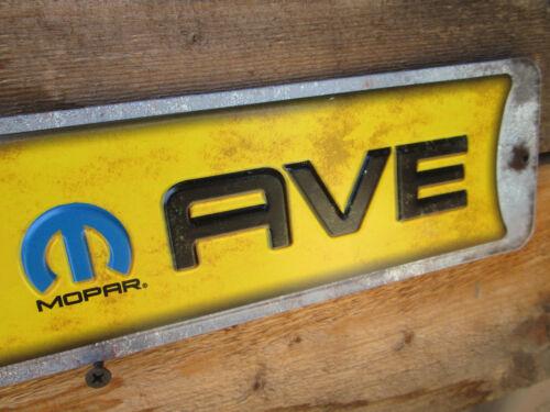NEW  MOPAR AVE METAL DISPLAY CUDA CHALLENGER CHRYSLER PLYMOUTH DODGE VIPER