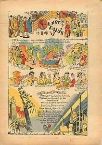 Caricature-Exposition-Universelle-de-Paris-Corse-Savoie-Anjou-1937-ILLUSTRATION