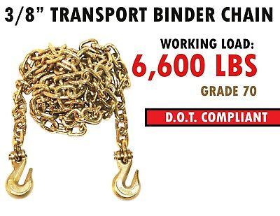 3//8x20 Grade 80 Binder Chain Transport Chain Clevis Grab Hooks