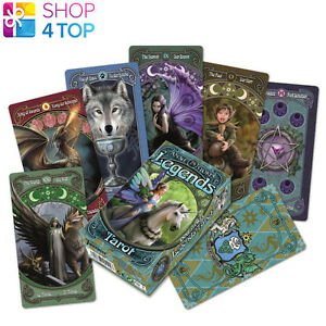 ANNE-STOKES-LEGENDS-TAROT-DECK-CARDS-DIVINATION-ESOTERIC-TELLING-FOURNIER-NEW