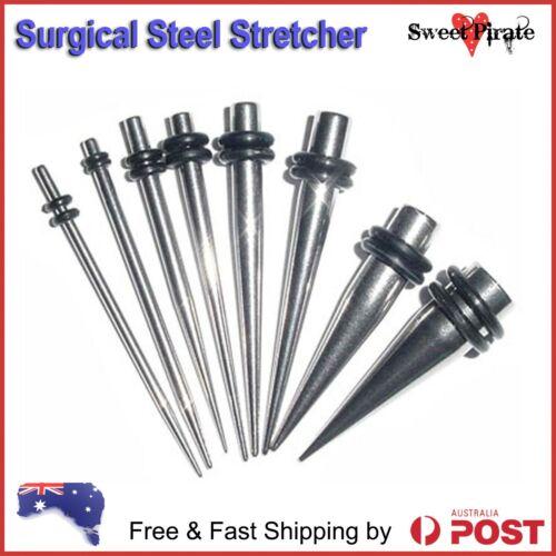 Surgical Steel Taper Ear Stretcher Expander Plug 316L