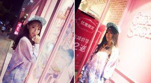 1pc Lolita Girls Starry Pattern Swearshirt Harajuku Kawaii Dream Stars Pullover