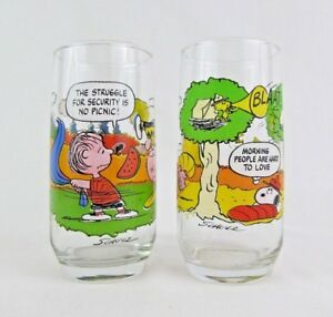 0e1ecb83da Image is loading McDonald-039-s-Camp-Snoopy-Peanuts-Collection-Glass-