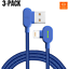 Mcdodo-3-PACK-6FT-90-Degree-Lightning-Charging-Cable-Charger-for-Apple-iPhone thumbnail 9