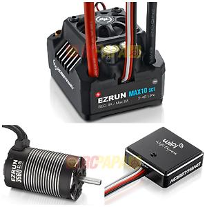 Hobbywing EZRUN Max10 SCT Esc 3660SL G2 Motor de 3200kv Wifi Express Combo
