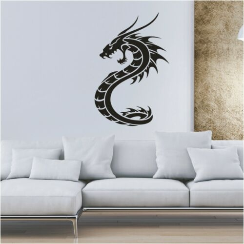 Chinesische Drachen Wandtattoo  Asien China Drache Wandaufkleber Deko Dragon3