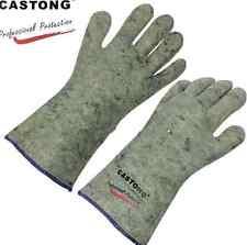 Carbon Fiber Fireproof Working Safty Protective Gloves Welder Welding Gloves Y