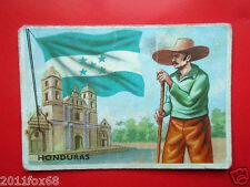figurines cromos cards figurine sidam gli stati del mondo 92 honduras bandiere h