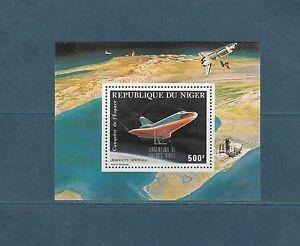 Niger-bloc-espace-navette-surcharge-1985-num-48