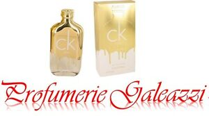 CK ONE GOLD EDT SPRAY VAPO - 100 ml