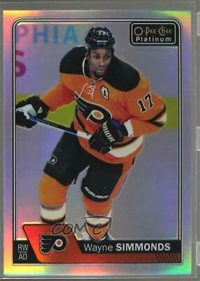 Wayne Simmonds 2016-17 O-PEE-CHEE Platinum Rainbow Color Wheel!!!