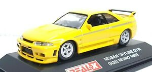 1 72 real x nissan skyline gt r r33 nismo 400r amarillo modelo automovil de fundicion ebay 1 72 real x nissan skyline gt r r33
