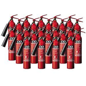NEW-x24-2-KG-CO2-CARBON-DIOXIDE-FIRE-EXTINGUISHERS
