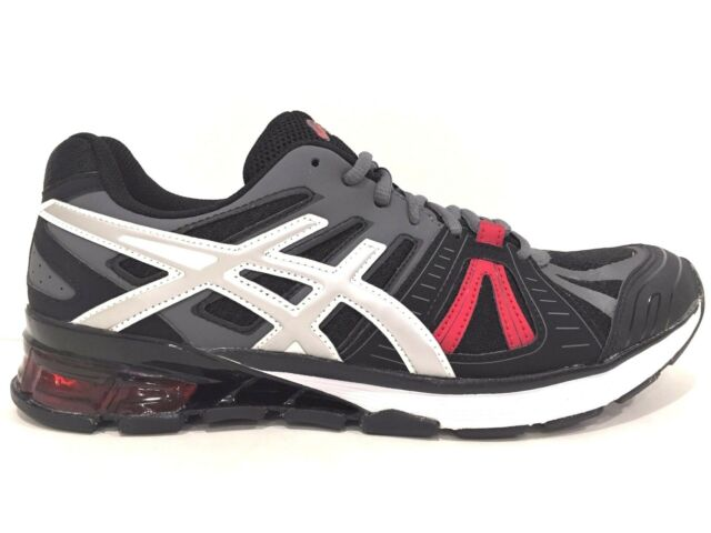 fbd660f06bd5 Mens 11.5 ASICS GEL Defiant 2 Running Shoes Onyx Silver Red