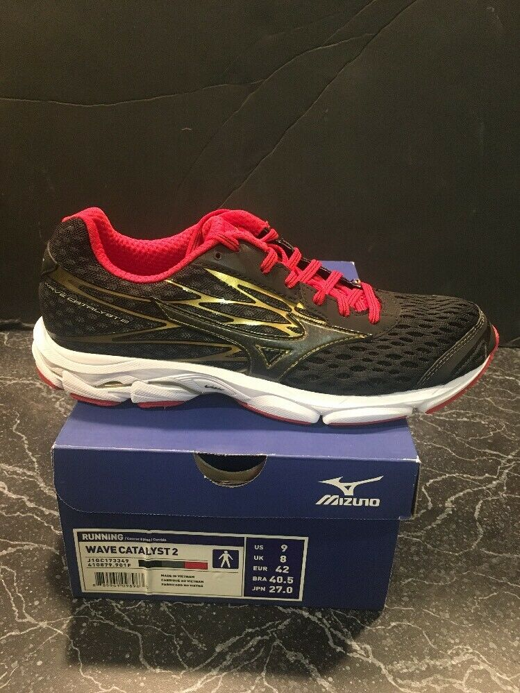 Mizuno Wave Catalyst 2 J1GC173349 Chaussure De Course Taille 9 NEW IN BOX