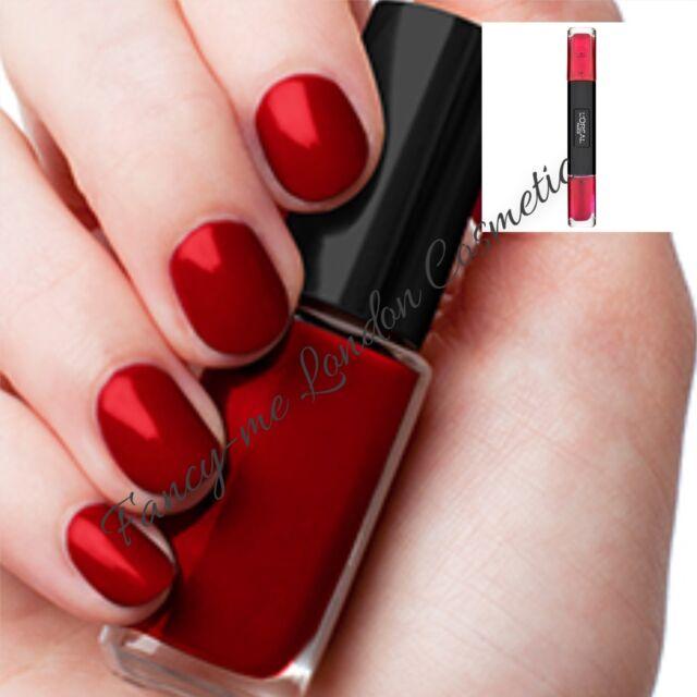 L\'oreal Paris Infallible Nail Polish Scarlett Century 25 5ml | eBay