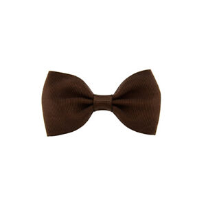 Bowknot-Hairpin-Kids-Baby-Sweet-Girls-Hair-Bow-Clip-Cute-Hair-Accessories-Brown