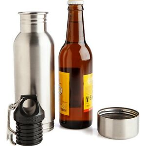 Hidden Secret Flask Alcohol Beer Stubby Holder Cooler