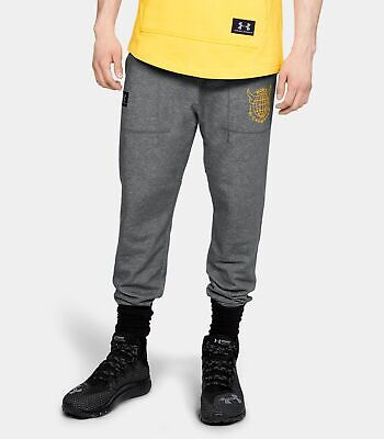Under Armour Project Rock S M L XL Double Knit Joggers All Day Pants 1330913-001