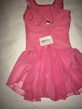 Girls Pink Leotard Dress Size 12 Donyos Decathlon Creation Dance Dress Costume