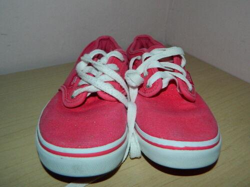 Eur 31 baskets lacets en Baskets textile 13 à rose vif à Uk SPgxvw