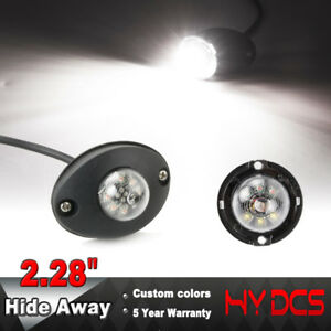 Vehicle Strobe Lights >> Details About 2 28 6 Led Hide Away Emergency Patrol Truck Vehicle Warning White Strobe Lights