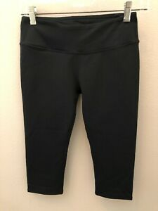 FABLETICS-Solid-Black-Salar-Compression-Crop-Capri-XS-4-NWT-MSRP-49-95