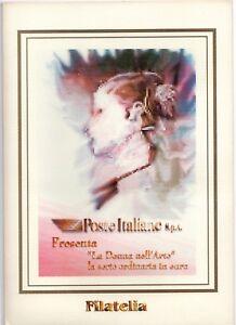 ITALIA-FOLDER-1999-LA-DONNA-NELL-039-ARTE-CORDONCINO-FACCIALE-10-33-SCONTO-30