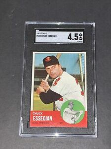 1963 Topps #103 Chuck Essegian SGC 4.5 Newly Graded & Labelled