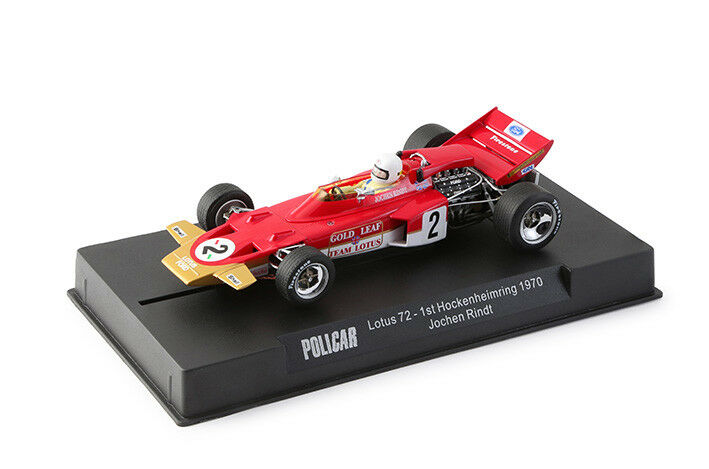 POLICAR LOTUS 72 feuille d'or - 1 32 Slot Car produite par SLOT IT CAR02A