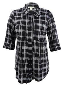 Style-amp-Co-Women-039-s-Plus-Size-Printed-Tunic-Shirt