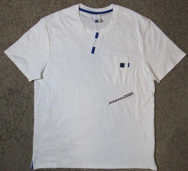 NWT Nike Court RF Essential Shirt Sz L 100% Authentic AH6764 100 Roger  Federer 4b833e5c3