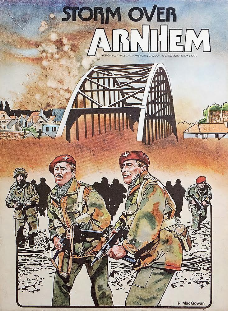 Vintage 1981 War Game: Storm Storm Storm Over Arnhem Avalon Hills  836 WWII f3eacc