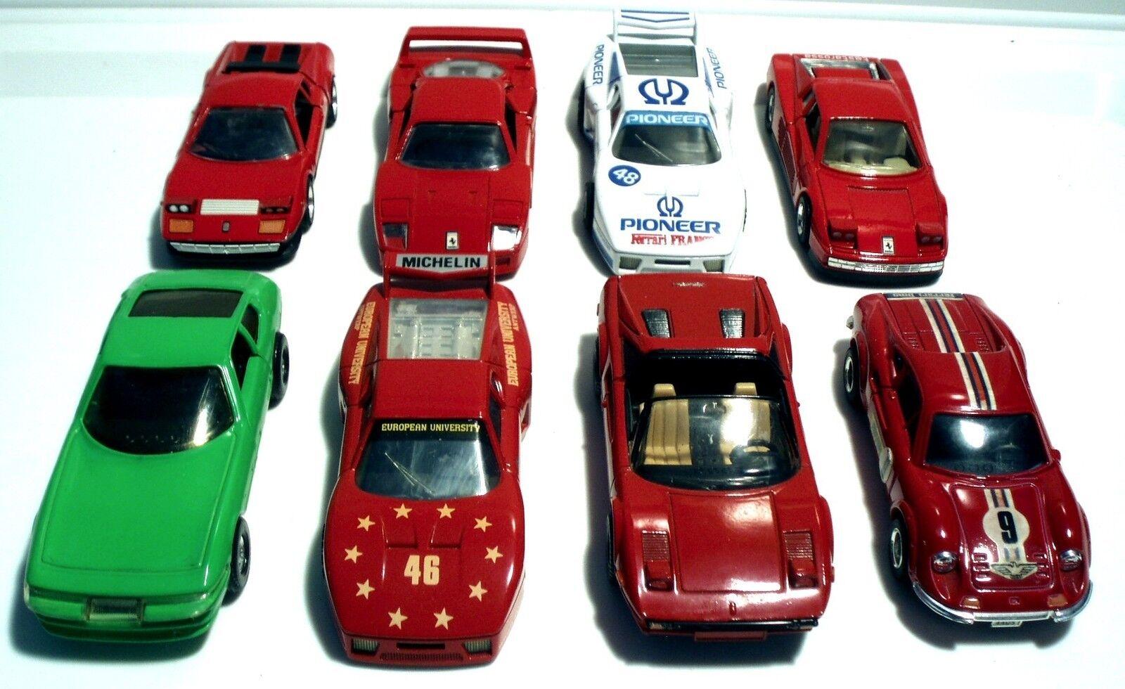 Diez de los ocho Ferrari Ferrari Ferrari eran juguetes Koji, cajas de cerillas, shinshinshing, Nagasawa, juguetes Mc. 663