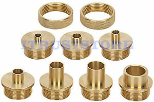 how to use router template guide bushings - brass router template bushing guide kit set for wood
