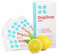 Drip Drop Hydration Powder Pack 21gm Lemon 4 Count Each on sale