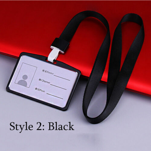 colored Tag Metal Aluminum Alloy Work Card Holders Name Card ID Business Case