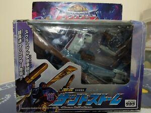 Takara Transformers Armada Micron Legend MD-04 Sandstorm Cyclonus Crumplezone