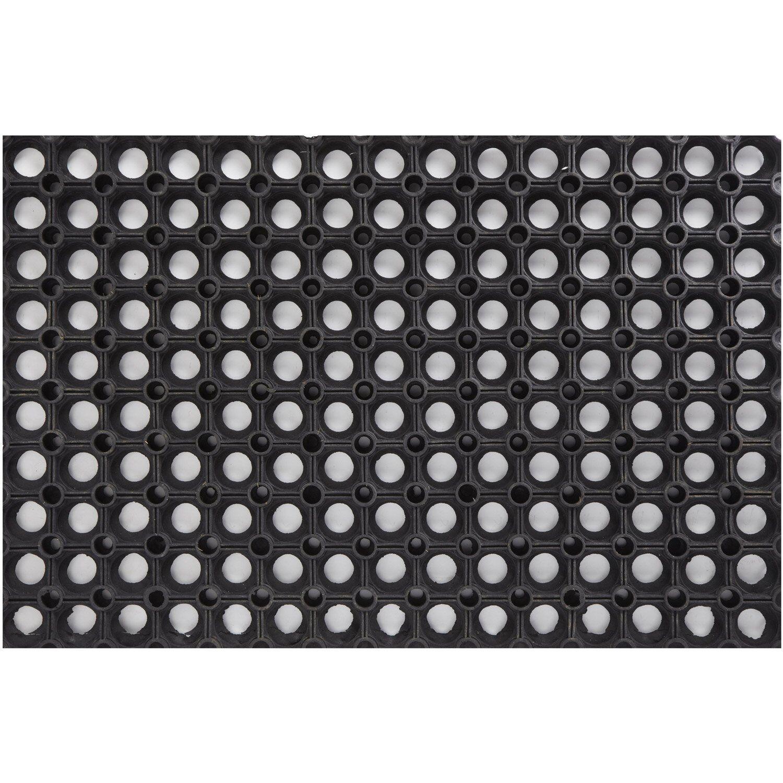 Masso 231480 Alfombra Ignifuga 100 x 150 cm Negro