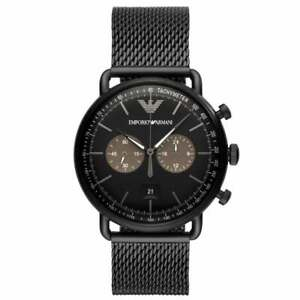speical offer newest collection great quality Details about Armani Watches AR11142 Black Ion Plated Men's Chronograph  Watch