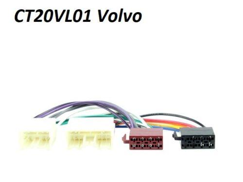 PC2-37-4 VOLVO TRUCK 1996 /> ISO STEREO HEAD UNIT HARNESS ADAPTOR WIRING LEAD