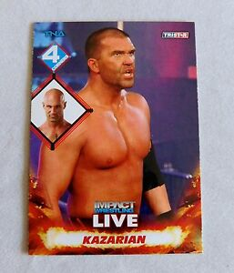 Details about Frankie Kazarian Wrestling Trading Card TNA Impact Live wwe  wwf nxt